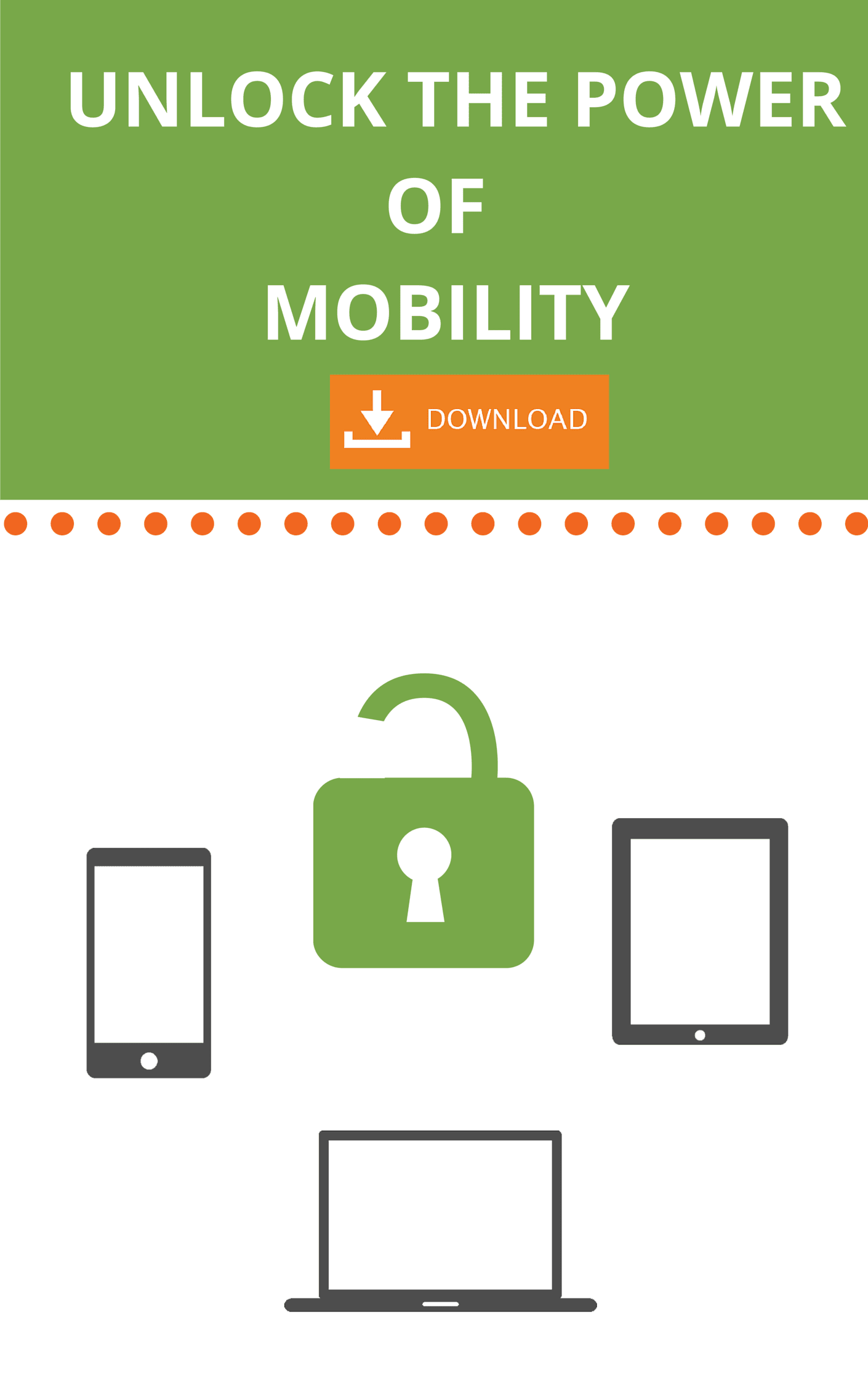 Unlocking the Power of Mobility eBook Cover