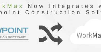 Viewpoint Construction Software Integration with WorkMax 2