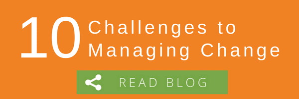 10 Challenges to Managing Change