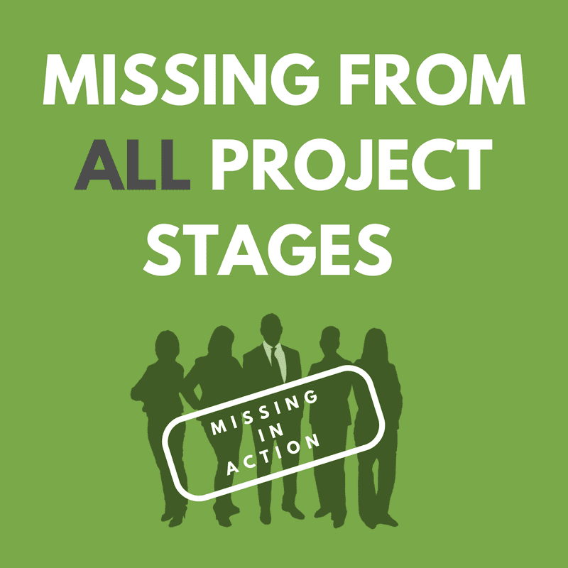 Missing from All Project Stages