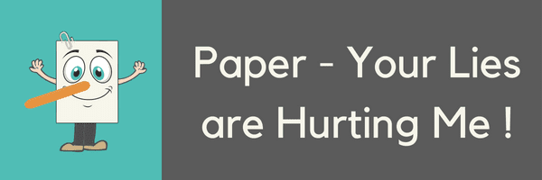BLOG PAPER BREAK UP Paper Your Lies Are Hurting Me