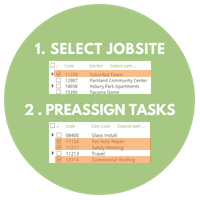 PreAssign Tasks to Employees for Employee Time Tracking
