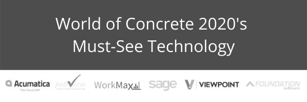 World of Concrete 2020 Must Seee Tech WorkMax TIME