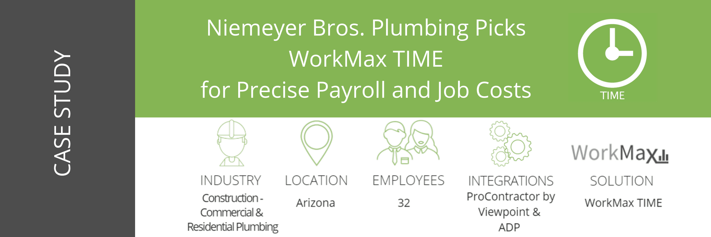 WorkMax TIME Niemeyer Case Study At A Glance