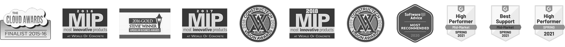 WorkMax Awards logos 2021